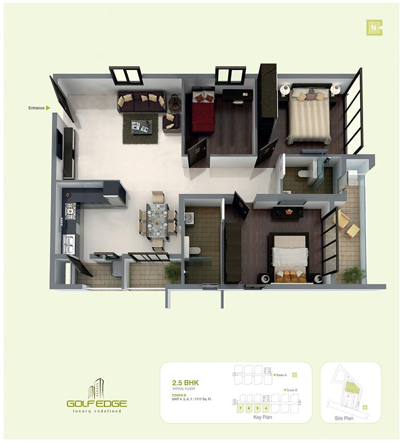 golf edge floor plans premium 2 amp 3 bhk apartments krishna aquabay location price reviews bangalore